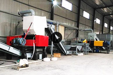 Fully Automatic Tire Recycling Plant In Qatar