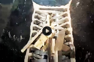 Waste Wood Double Shaft Shredder