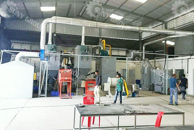 PCB Recycling and Precious Metal Refining Plant In India